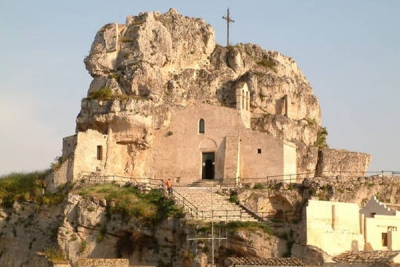 The Rock chapels of Madonna de Idris and San Giovanni in Monterrone